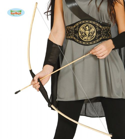 Toy Bow & Arrows (x3) Set 100cm Novelty Crossbow Daryl Robin Hood Fancy Dress